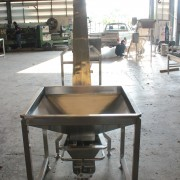 สกรูลำเลียง (Screw conveyor)