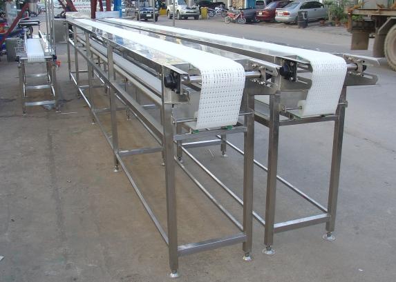 สายพานลำเลียงโมดูลาร์ (Modular Belt Conveyor)