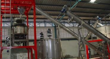 โรงเกลือ ปึง เป้ง น้ำ (เครื่องจักรในกระบวนการผลิตเกลือ)