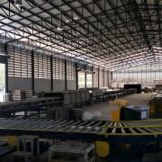 ไลน์ผลิตหมอนยางพารา,Free Roller Comveyor,สายพานลำเลียง